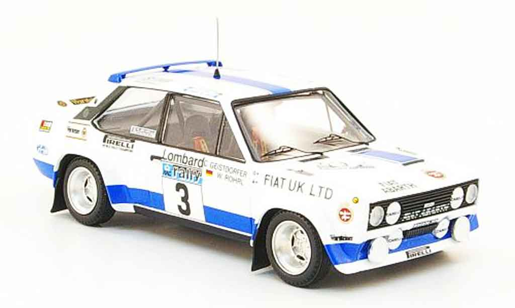 Fiat 131 1/43 Trofeu Abarth No.3 RAC Rally 1979 diecast