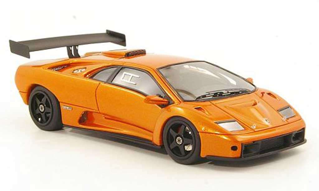 Lamborghini Diablo GTR 1/43 Look Smart orange 1999 miniature