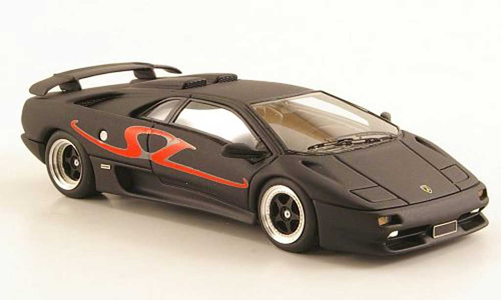 Lamborghini Diablo SV 1/43 Look Smart mattblack 1995 diecast model cars