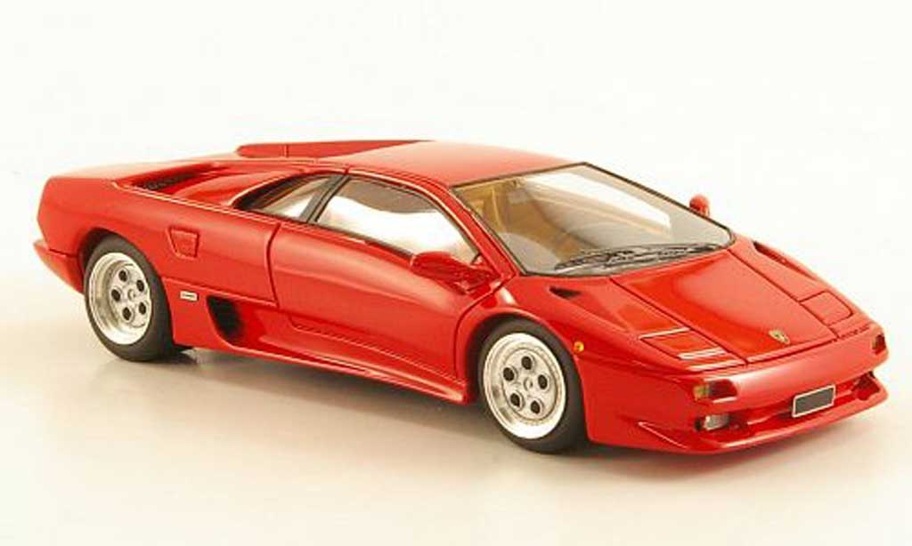 Lamborghini Diablo VT 1/43 Look Smart rouge 1993 miniature