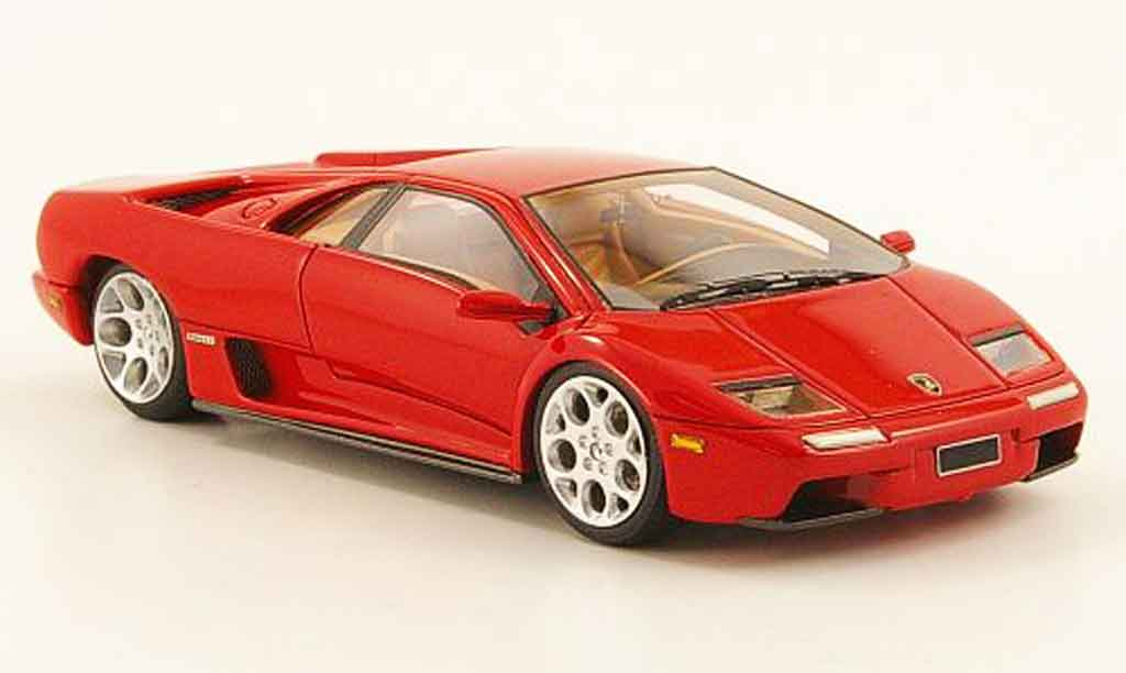 Lamborghini Diablo 6.0 1/43 Look Smart rouge 2001 miniature