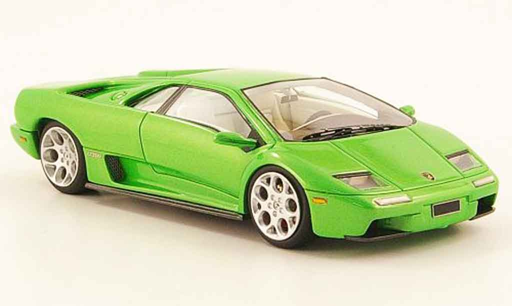 Lamborghini Diablo 6.0 1/43 Look Smart verte 2001 miniature