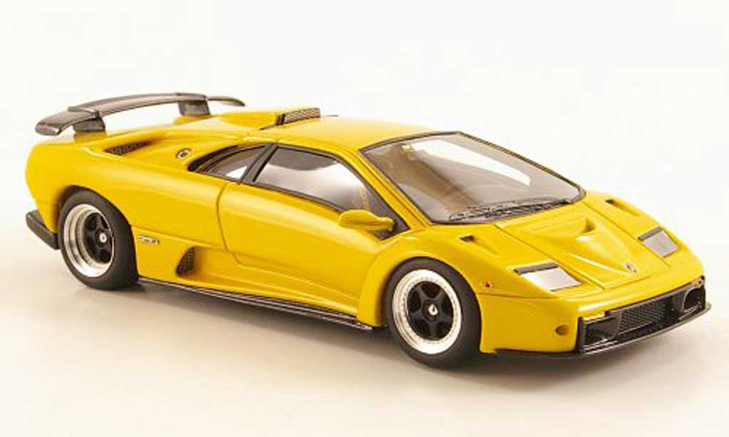 Lamborghini Diablo GT 1/43 Look Smart yellow Auto Salon Genf diecast model cars