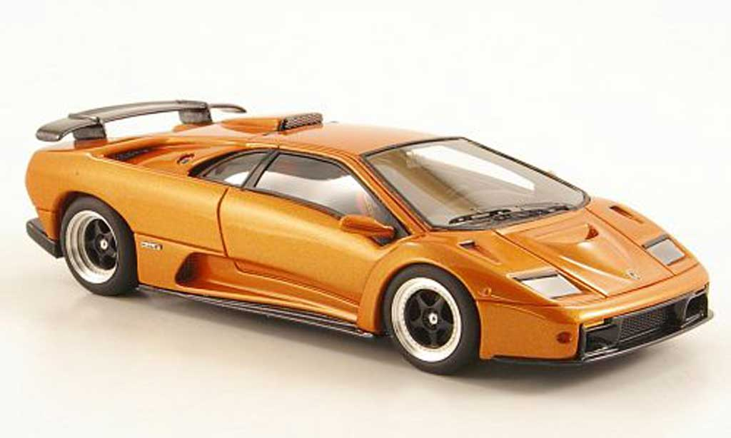 Lamborghini Diablo GT 1/43 Look Smart orange Auto Salon Genf miniature