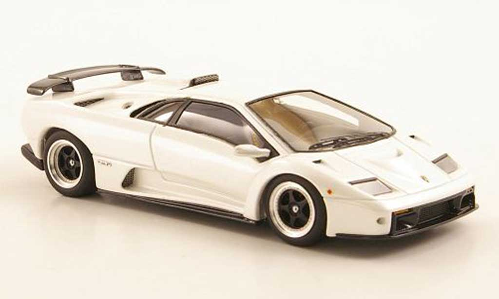 Lamborghini Diablo GT 1/43 Look Smart white Auto Salon Genf diecast model cars