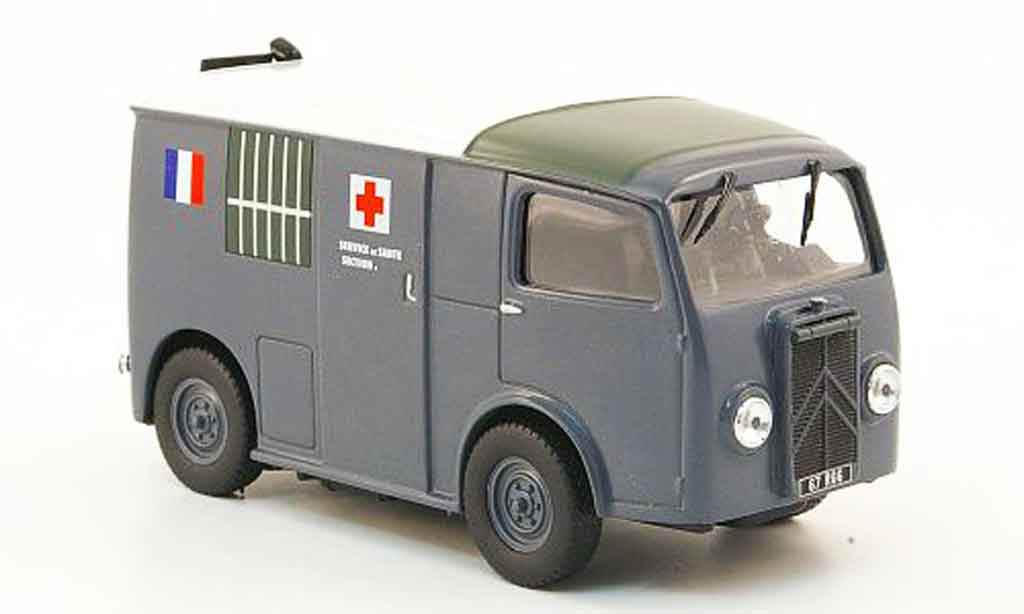 Citroen TUB 1/43 IXO ambulance miniature