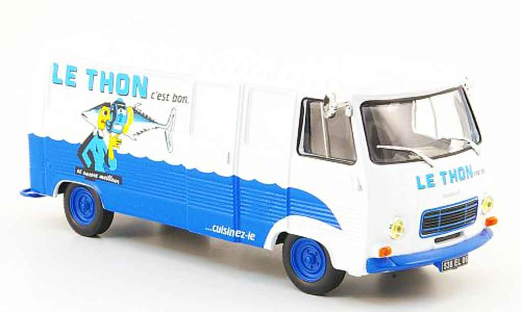 Peugeot J7 1/43 IXO le thon c est bon miniature