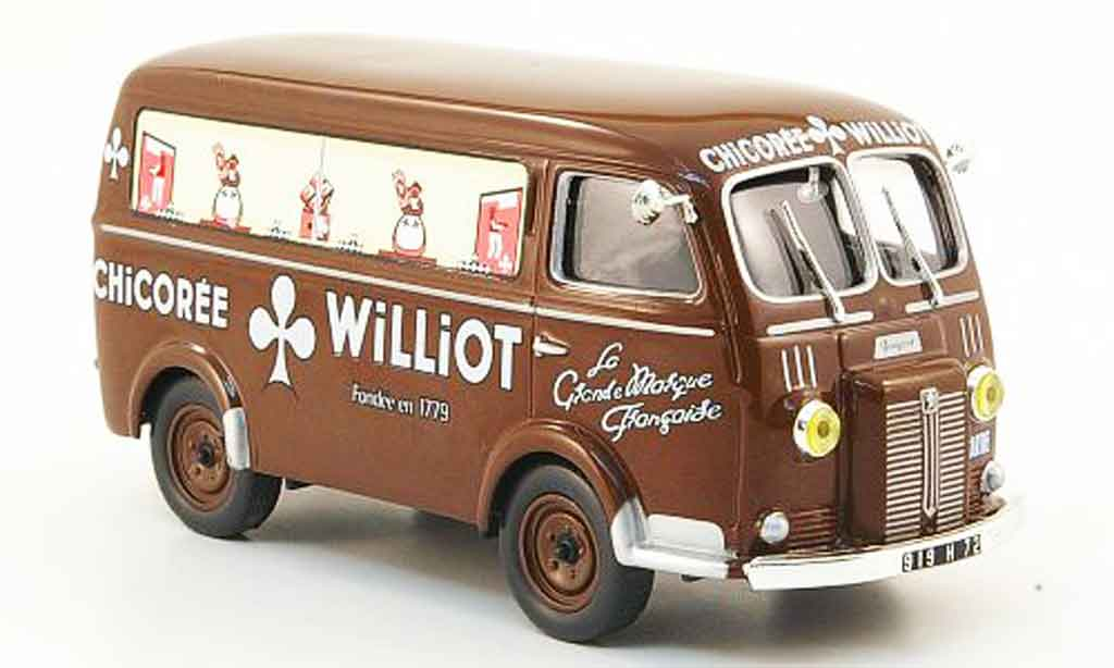 Peugeot D3A 1/43 IXO chicoree williot miniature