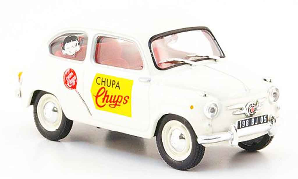 Seat 600 1/43 IXO chupa chups miniature