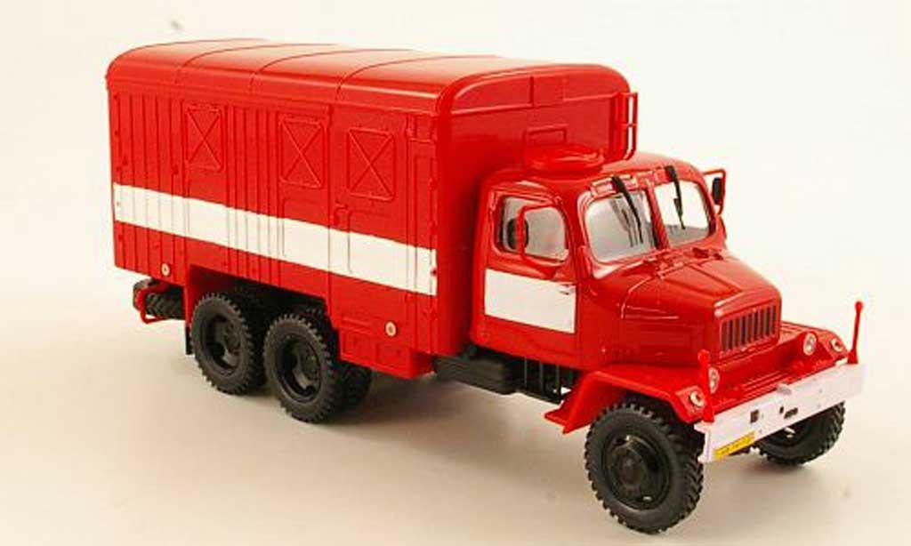 Praga V3S 1/43 Abrex Kasten rot/weiss modellautos