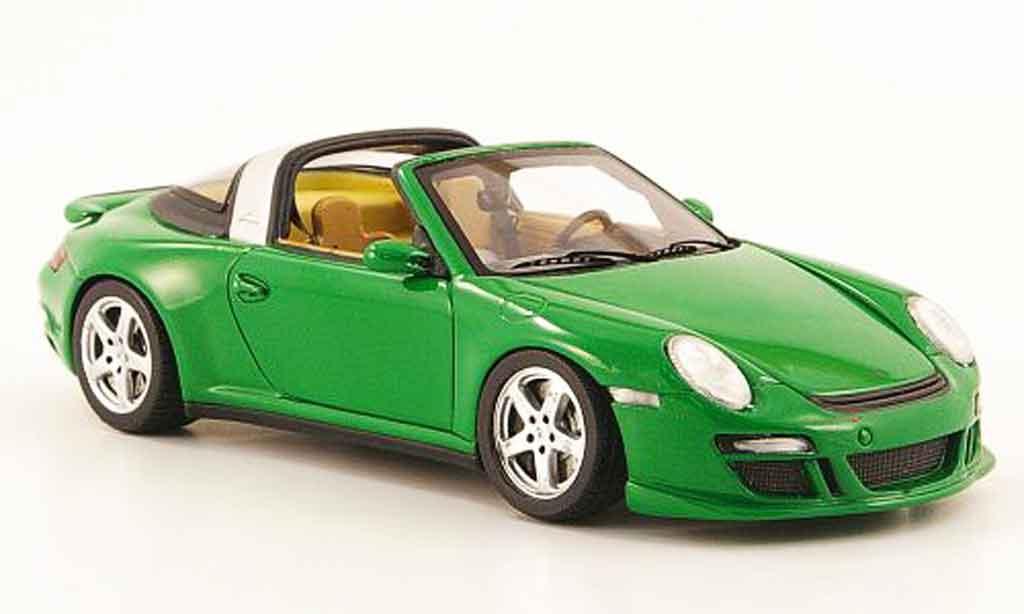 Ruf Greenster 1/43 Spark eRoadster verte 2009 miniature