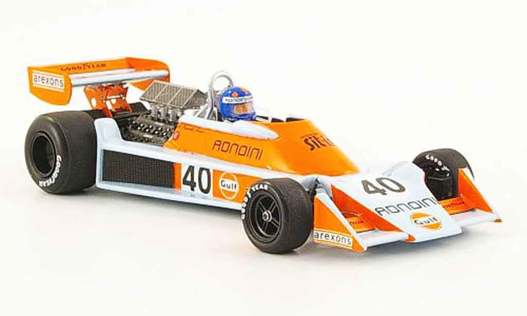 Tyrrell 007 1/43 Spark No.40 Gulf GP Holland 1976 diecast model cars