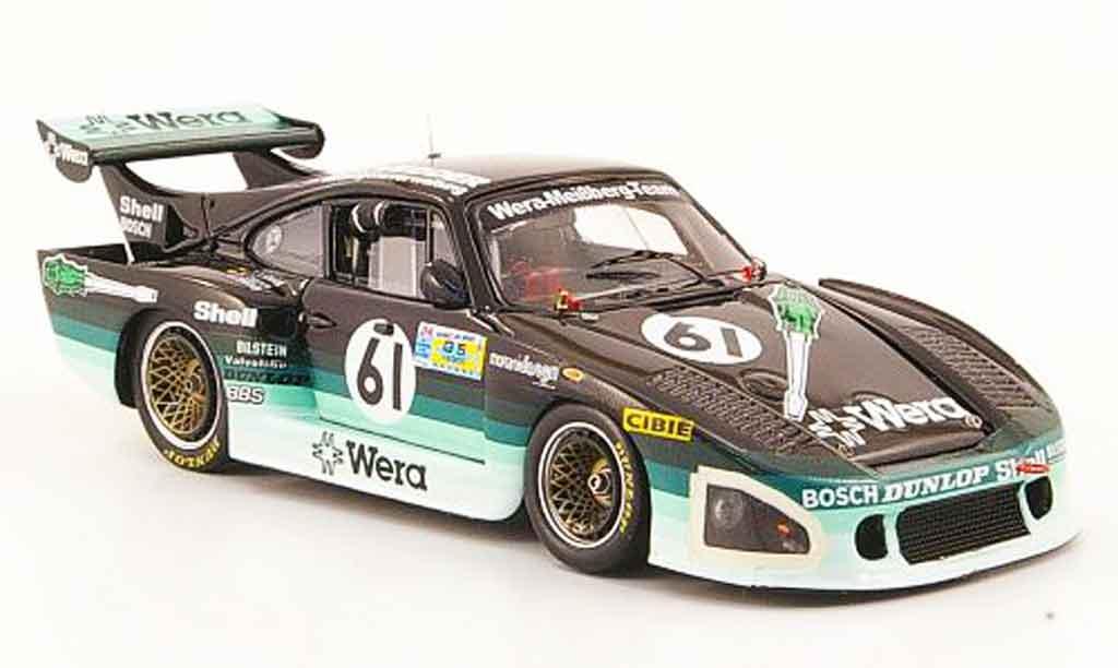 Porsche 935 1981 1/43 Spark K3 No.61 Wera 24h Le Mans diecast model cars