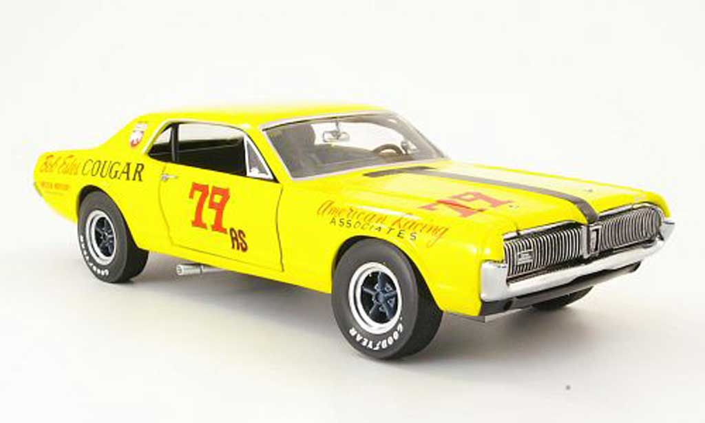 Mercury Cougar 1/18 Sun Star racing no.79 bob estes racing 1967 miniature