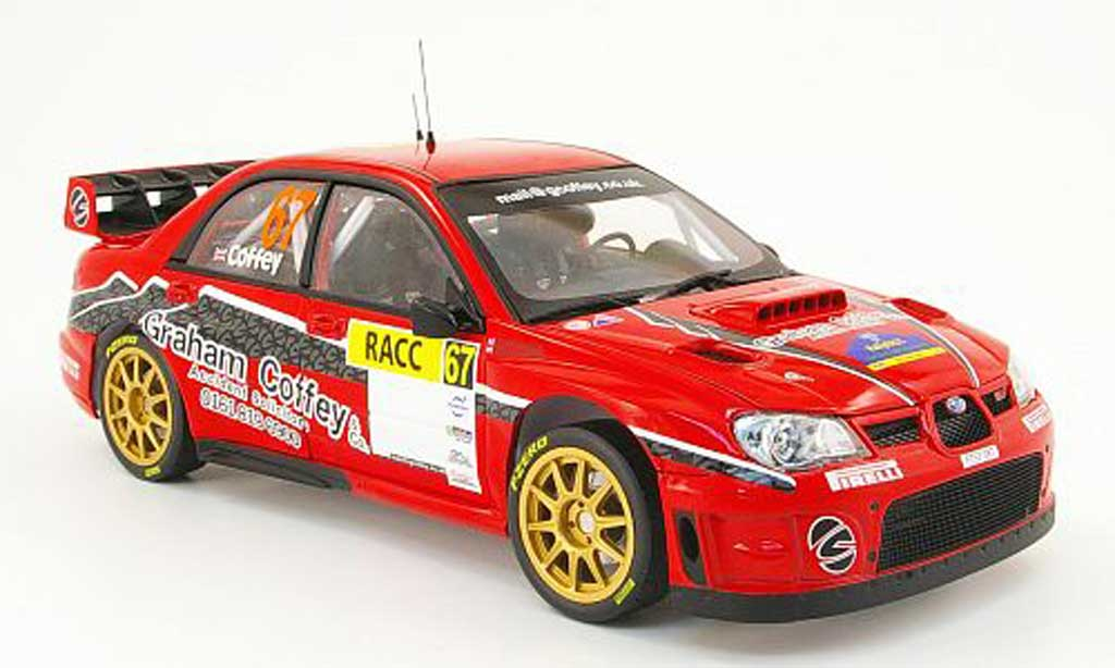 Subaru Impreza WRC 1/18 Sun Star 07 no.67 racc rallye catalunya 2009 miniature