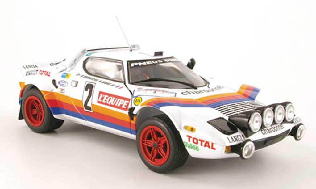 Lancia Stratos 1/18 Sun Star hf rallye no.2 total tour de france 1981 miniature
