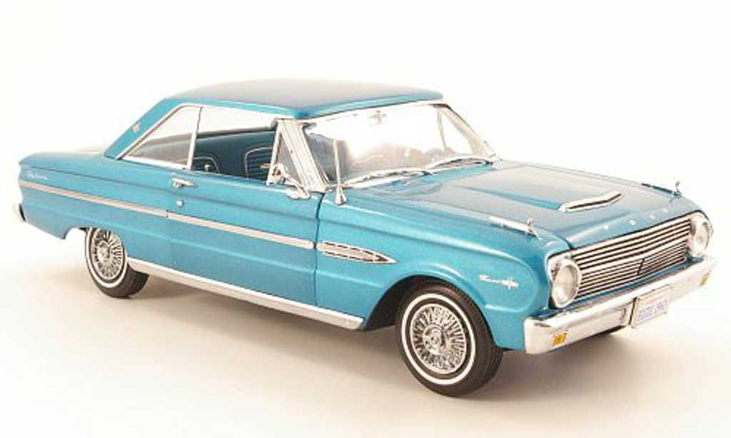 Ford Falcon coupe 1/18 Sun Star hard top verte 1963 miniature