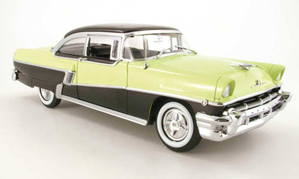 Mercury Montclair 1/18 Sun Star hard top yellow-green/noir 1956 diecast