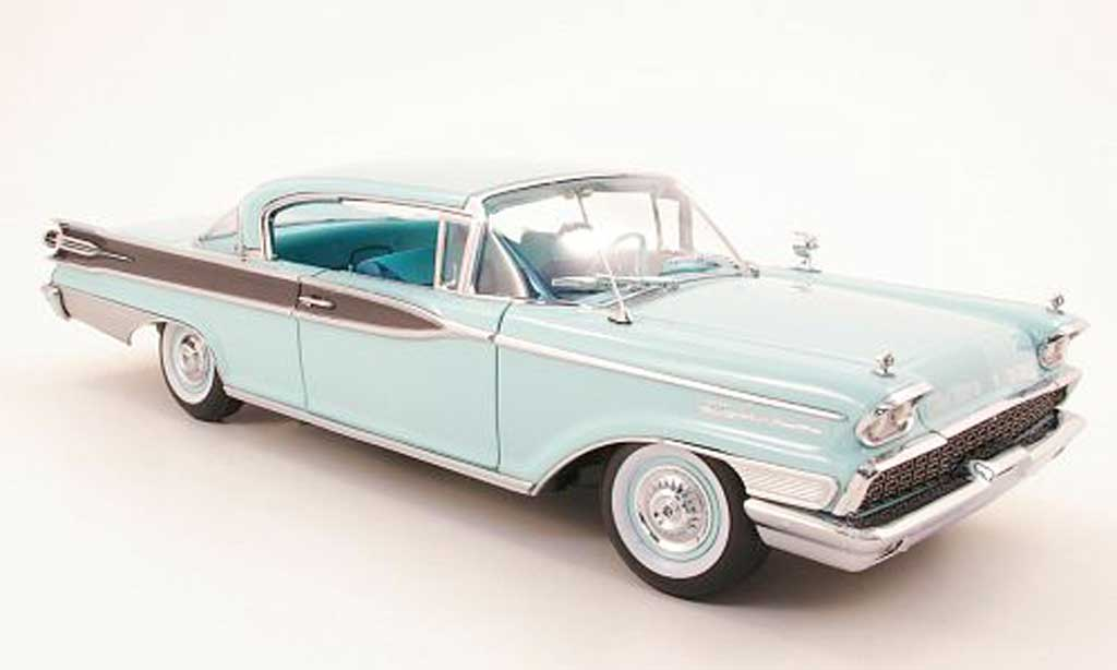 Mercury Parklane 1/18 Sun Star hard top bleu 1959 miniature