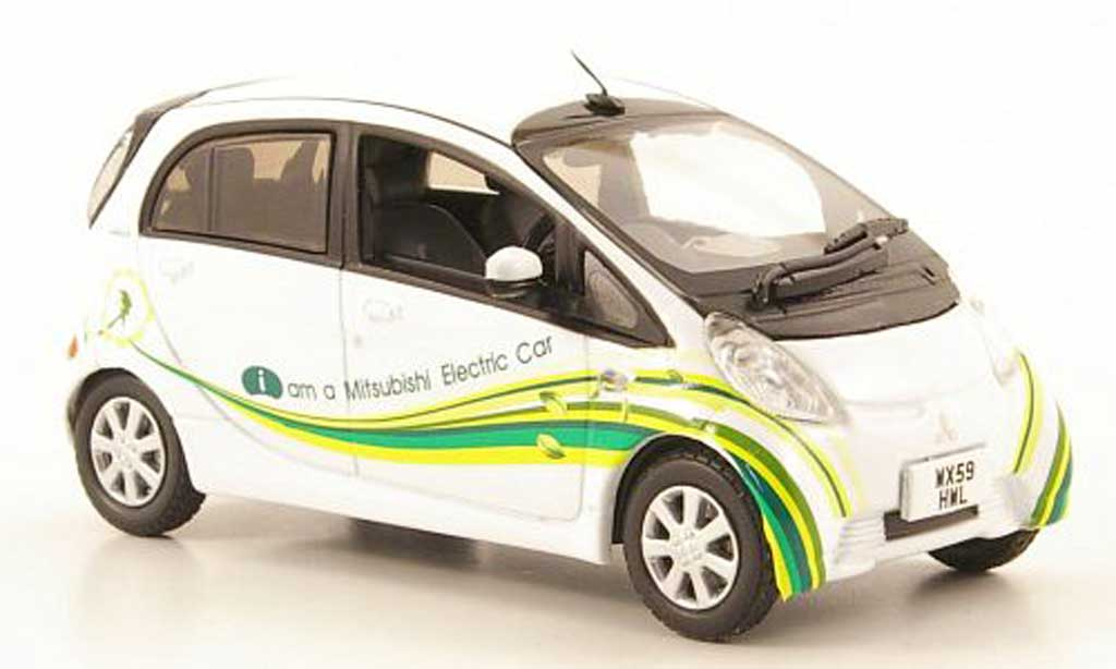 Mitsubishi iMiev 1/43 Vitesse UK Promotion Car RHD miniature
