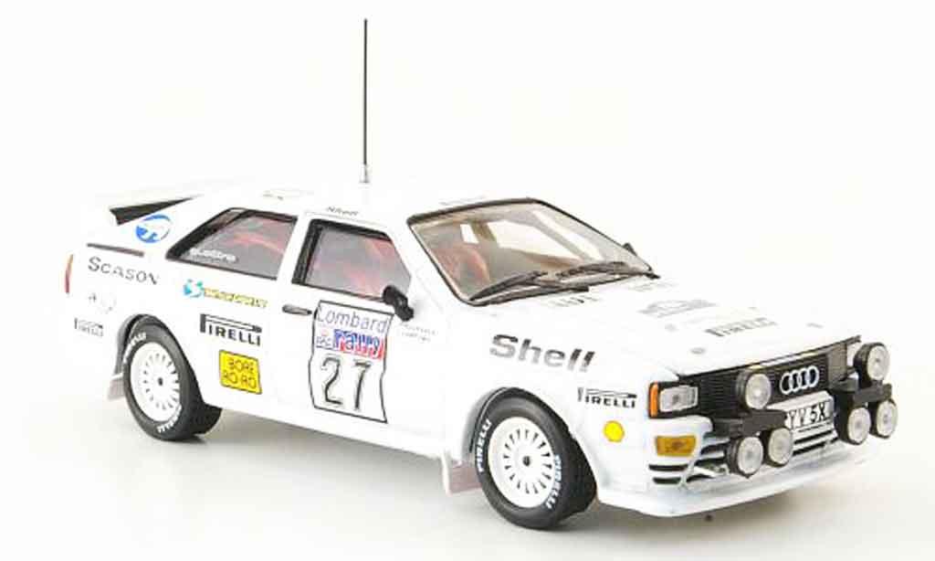 Audi Quattro 1/43 Vitesse Rally No.27 Lombard RAC Rally 1982 miniature