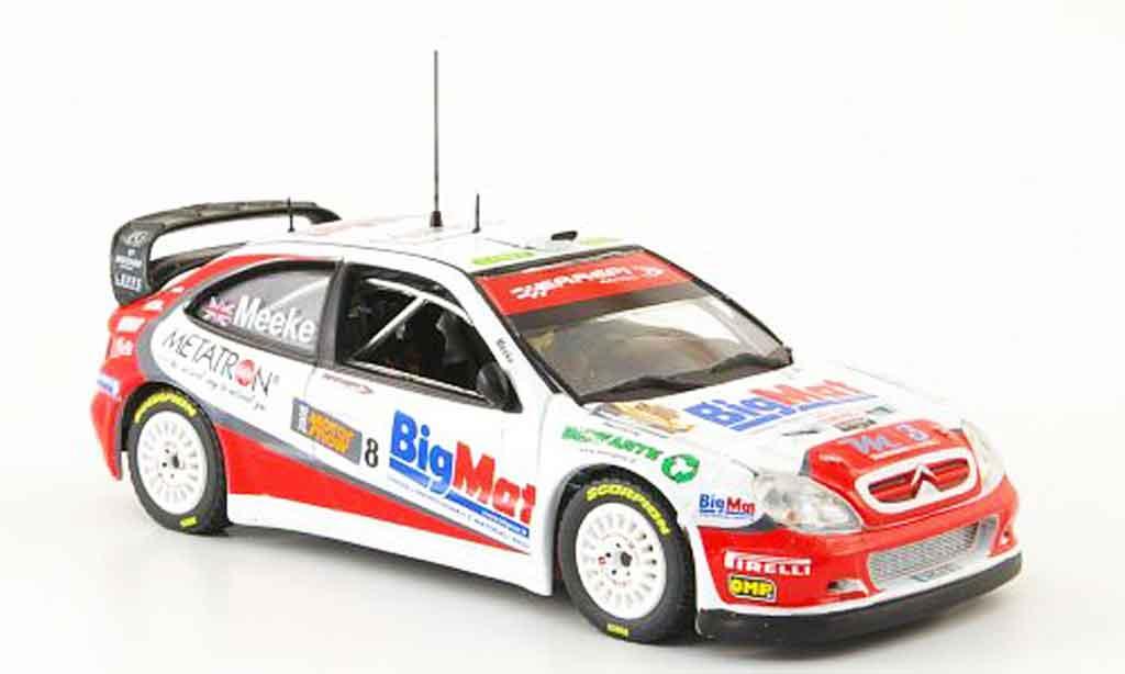 Citroen Xsara WRC 2008 1/43 Vitesse no.8 bigmat bologna motor show miniature