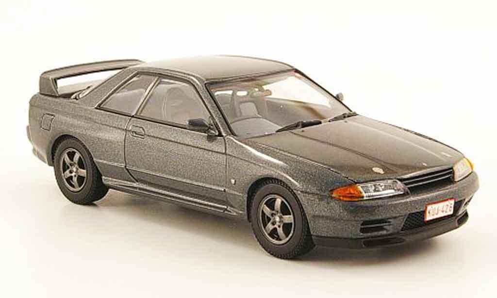nissan skyline r32 gt r grau kyosho modellauto 1 43 kaufen verkauf modellauto online. Black Bedroom Furniture Sets. Home Design Ideas