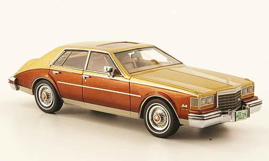 Cadillac Seville 1981 1/43 Neo Mk II marron or miniature