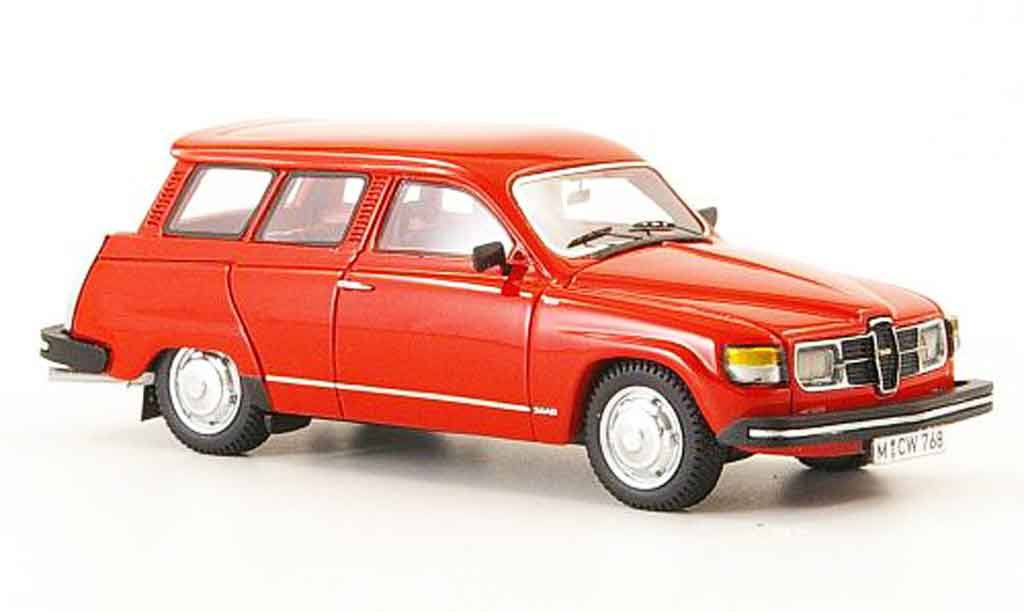 Saab 95 GL 1/43 Neo rouge edition liavecee 300 1979