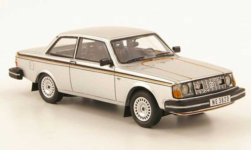 Volvo 242 1/43 Neo GT grise  1977 miniature