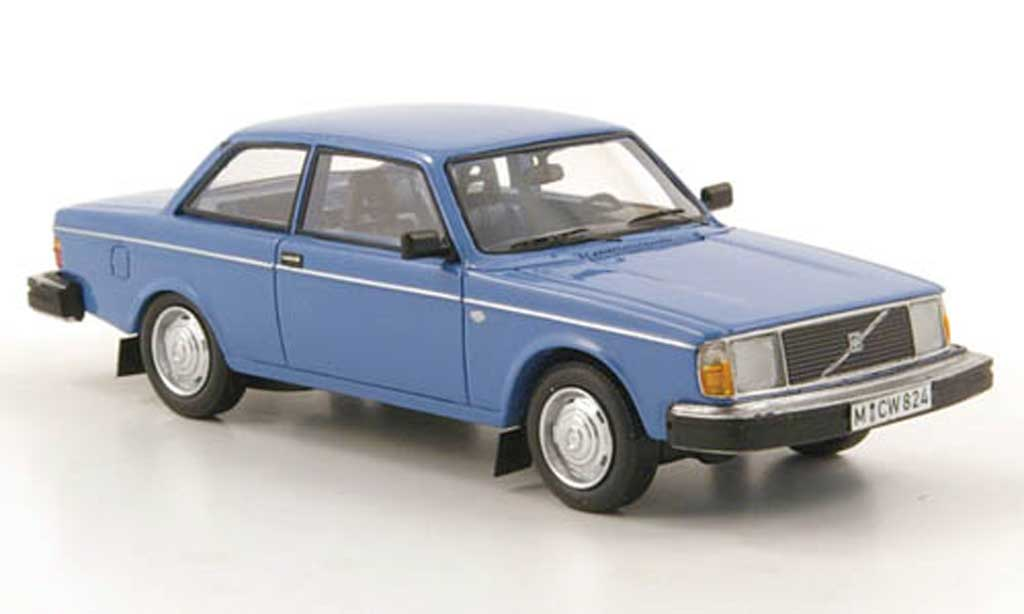 Volvo 242 1/43 Neo DL bleu limited edition 1979 miniature