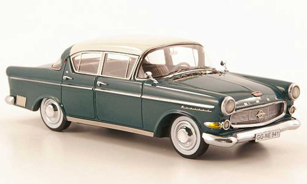 Opel Capitaine 1/43 Neo (P2.5) 2.5L vert/blanche miniature