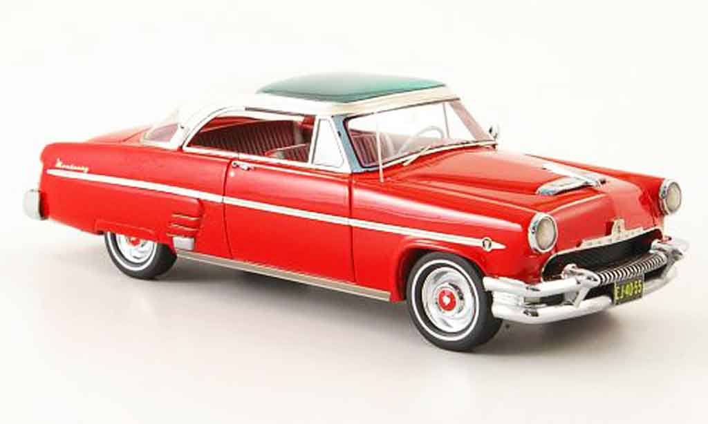 Mercury Monterey 1/43 Neo Sun Valley rouge blanche 1954 miniature