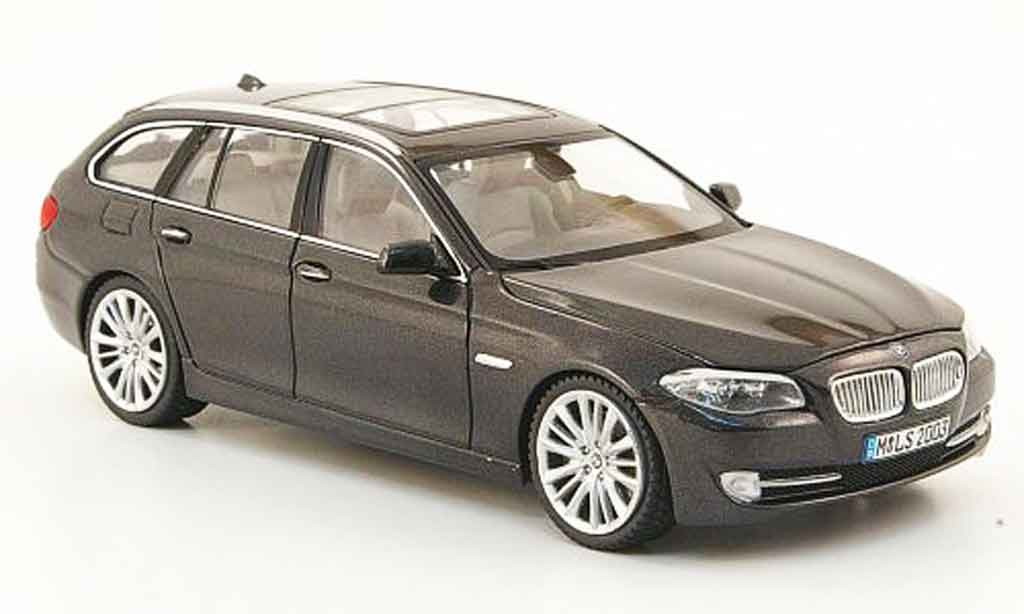 Bmw 550 F11 1/43 Schuco Touring grise 2010 miniature