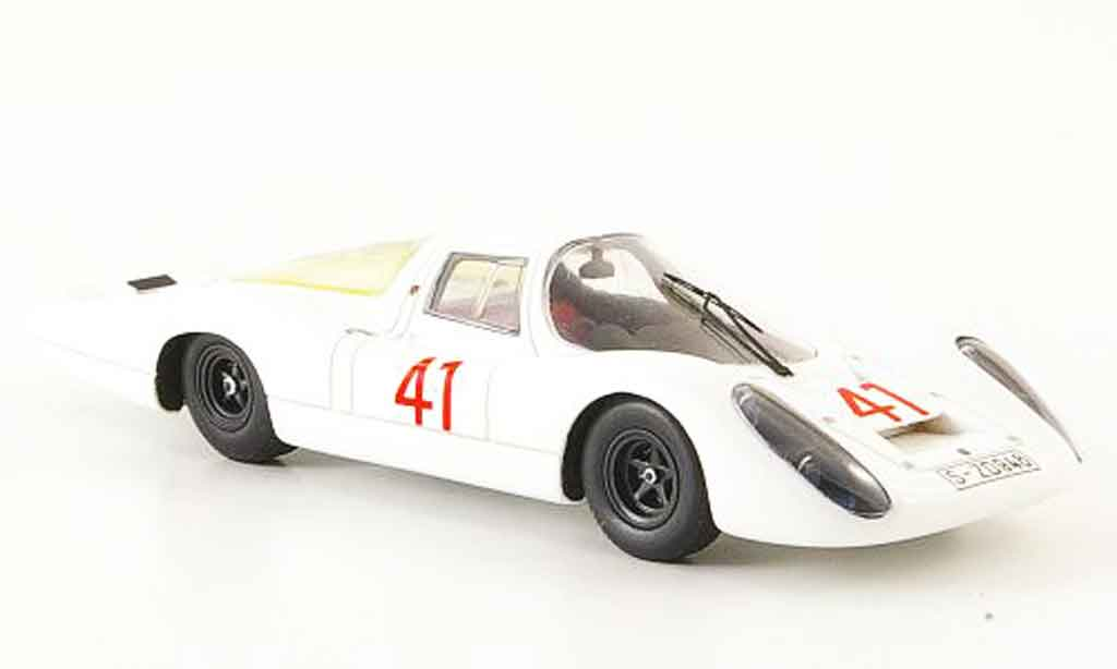 Porsche 907 1967 1/43 Ebbro No.41 Test 24 Le Mans diecast model cars
