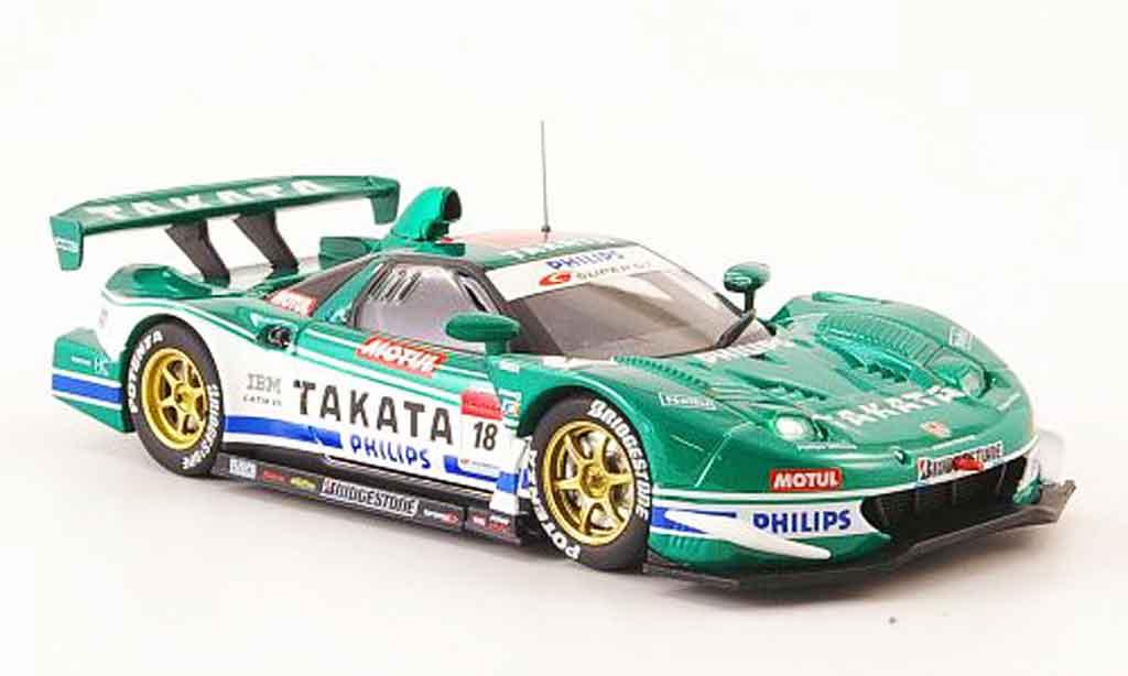 Honda NSX Super GT 1/43 Ebbro No.18 Takata Dome 500 2008 miniature