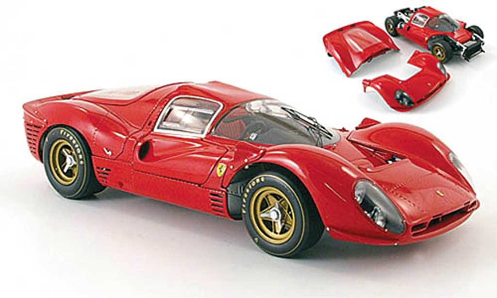 Ferrari 330 P4 1/18 GMP prougeotyp rouge