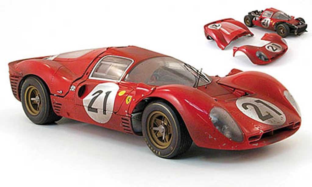 Ferrari 330 P4 1/18 GMP no.21 scarfiotti/parkes 24h le mans 1967 miniature