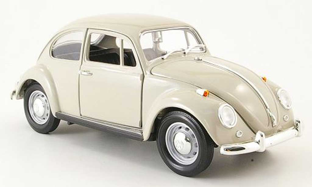 Volkswagen Kafer 1/18 Yat Ming beige 1967 miniature