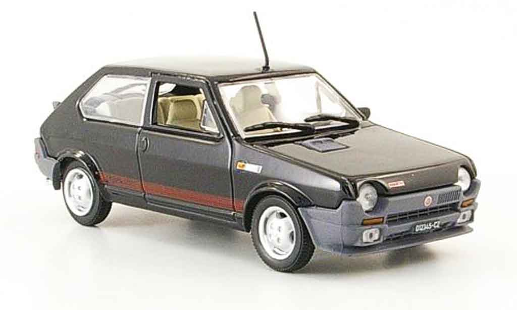 fiat ritmo 125 tc abarth black 1981 norev diecast model car 1 43 buy sell diecast car on. Black Bedroom Furniture Sets. Home Design Ideas