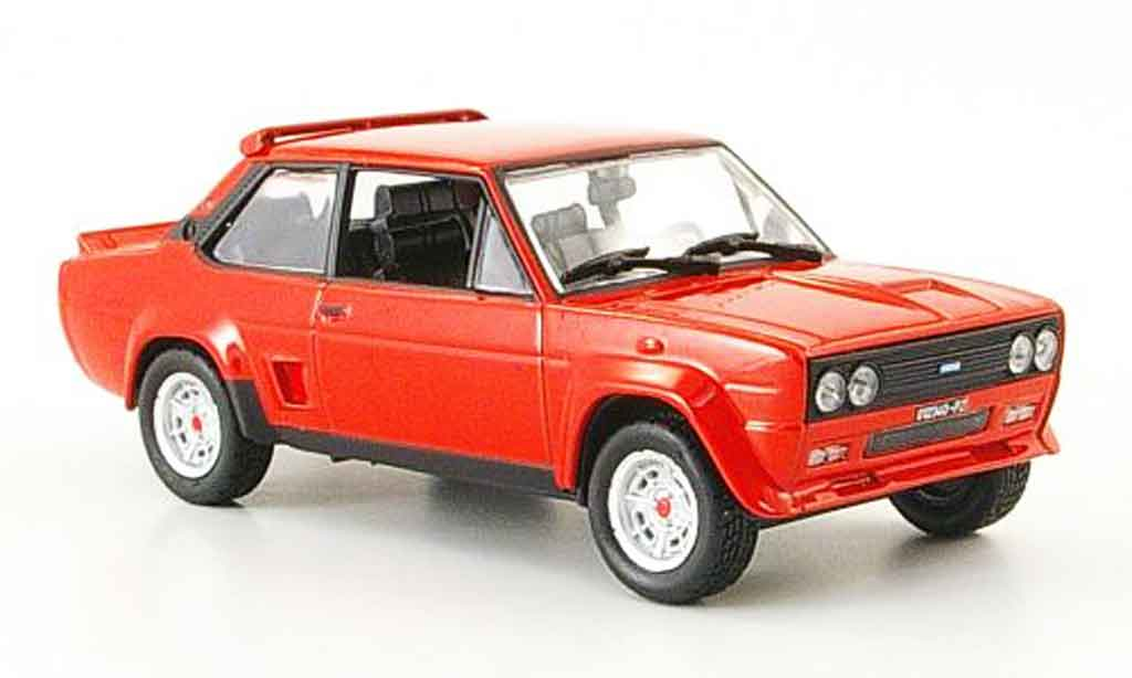 Fiat 131 1/43 Norev Rally Abarth rouge 1976 miniature
