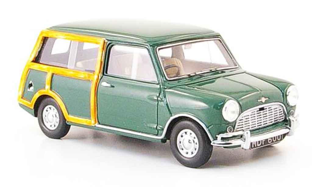 Austin Mini Van 1/43 Spark Countryman grun 1969 diecast model cars
