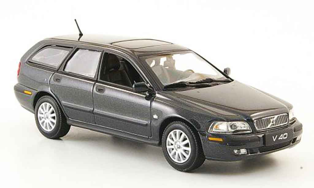 Volvo V40 1/43 Minichamps anthrazit 2000 miniature