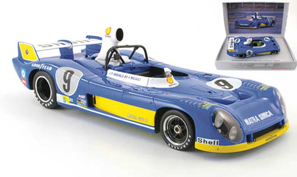 Simca Matra 1/18 Kyosho ms670b no.9 jabouille/migault 24h le mans 1974 diecast model cars