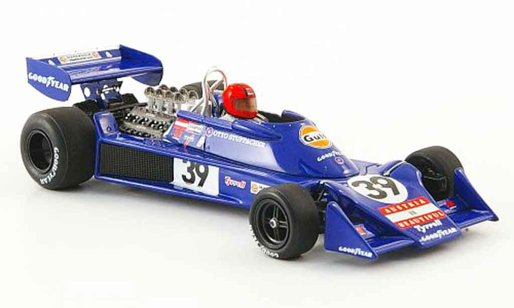 Tyrrell 007 1/43 Spark No.39 Gulf O.Stuppacher GP Kanada 1976 miniature
