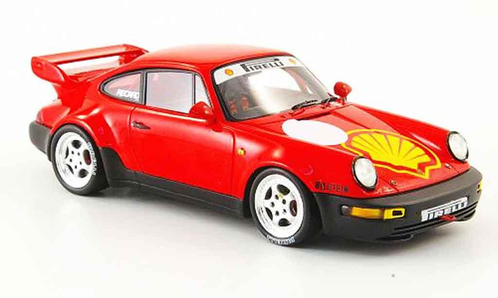 Porsche 964 RSR 1/43 Spark 3.8 Test Paul Ricard 1993 miniature
