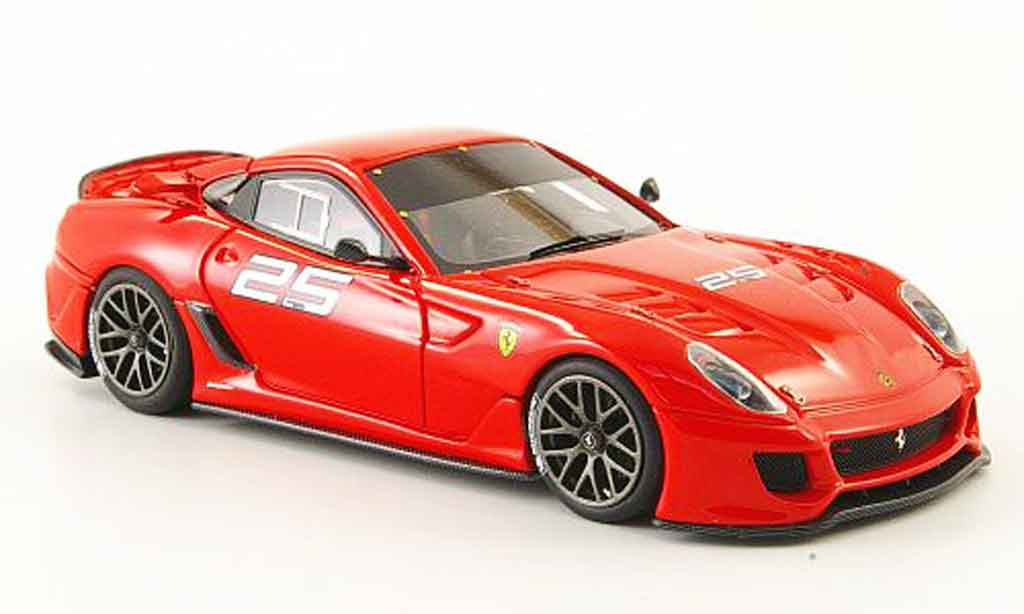 Ferrari 599 XX 1/43 Look Smart no.25 kundenversion autosalon genf 2009 diecast model cars