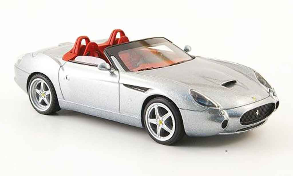 Ferrari 575 GTZ 1/43 Look Smart barchetta grise miniature