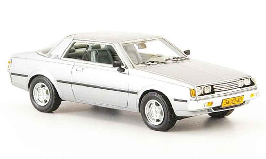 Mitsubishi Sapporo 1/43 Neo MK1 grise metallisee 1982 miniature