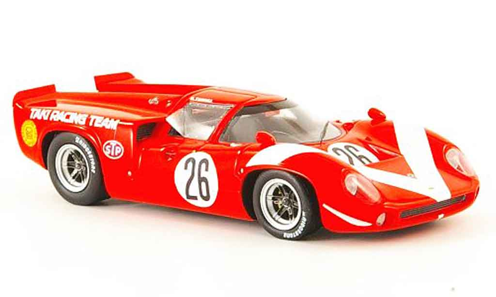 Lola T70 1/43 Ebbro MK3 No.26 GP Japan 1968 miniature